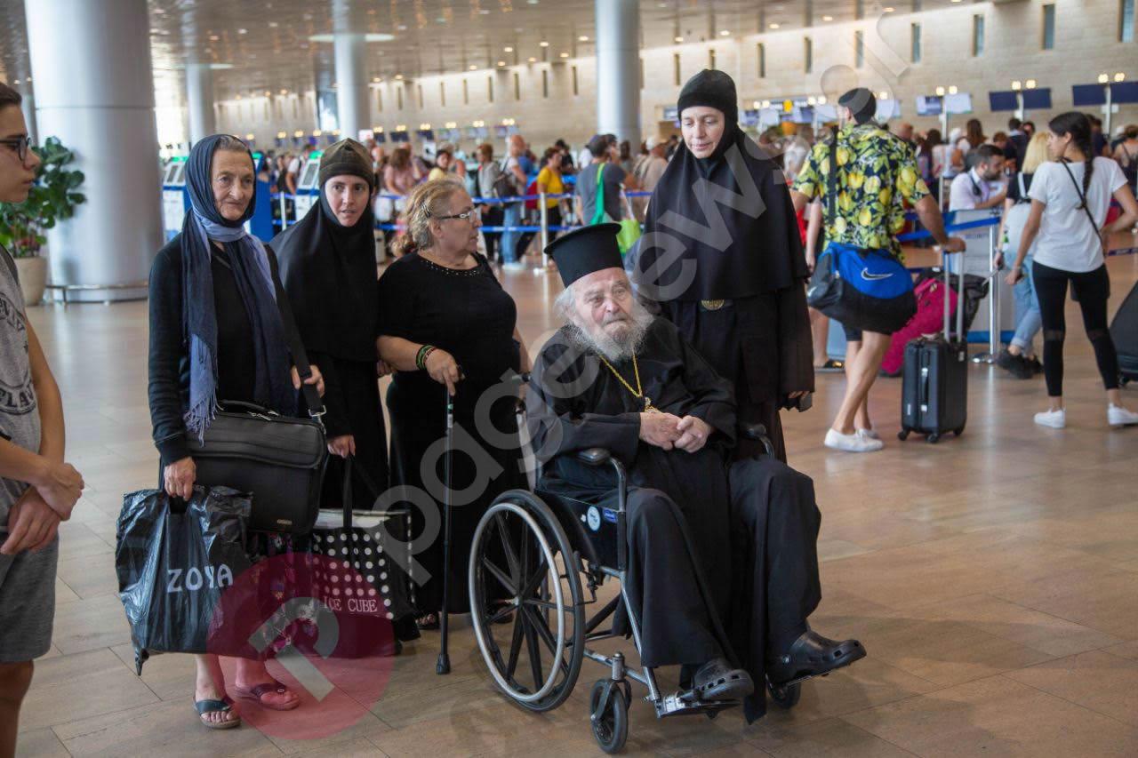 Αποκλειστικό: Θρίλερ με τον πρώην Πατριάρχη Ιεροσολύμων Ειρηναίο (pics)